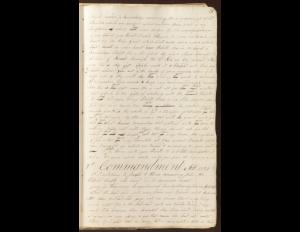Early D&C 7 Manuscript