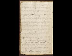 Early D&C 8 Manuscript