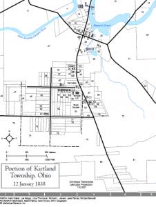 Map of Kirtland, Ohio