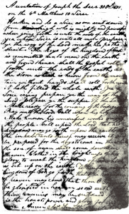 Early Manuscript of D&C 65