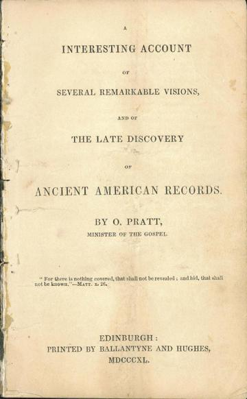 A Interesting Account of Several Remarkable Visions book cover