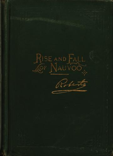 Rise and Fall of Nauvoo book cover