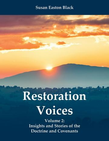 "The cover of ""Restoration Voices, Vol. 2"" by Susan Easton Black"