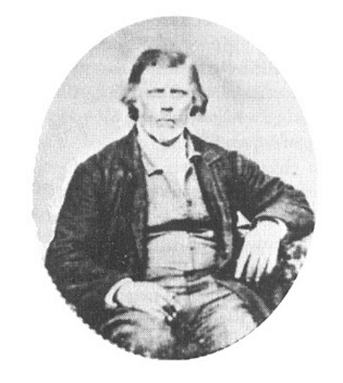 Portrait Daguerrotype of Thomas B. Marsh.